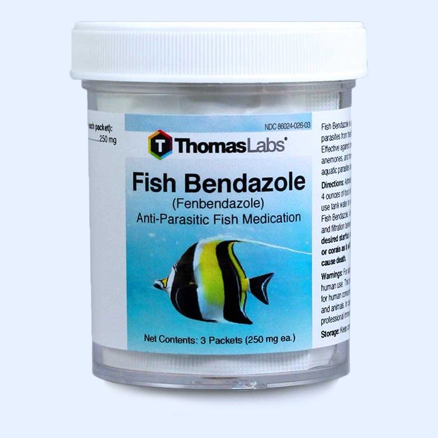 Fish Bendazole Powder Packets - Fenbendazole 250 Mg (3 Count)