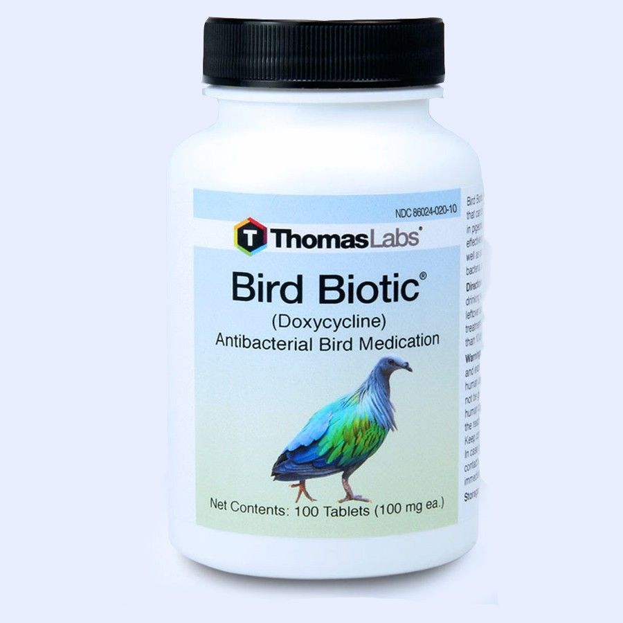 Bird Biotic - Doxycycline 100 Mg (30 Count Tablets)