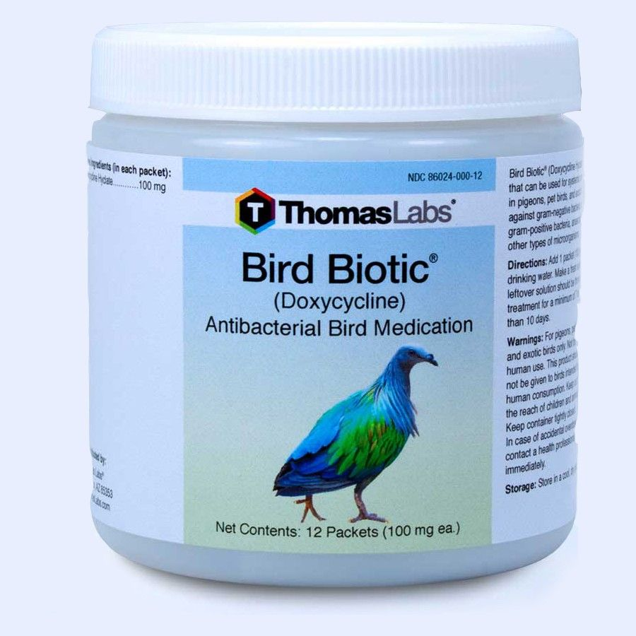 Bird Biotic - Doxycycline 100 Mg (12 Count Packets)