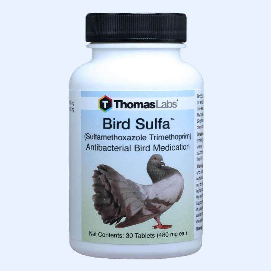 Bird Sulfa Tablets - 30 Count (Sulfamethoxazole 400 mg)