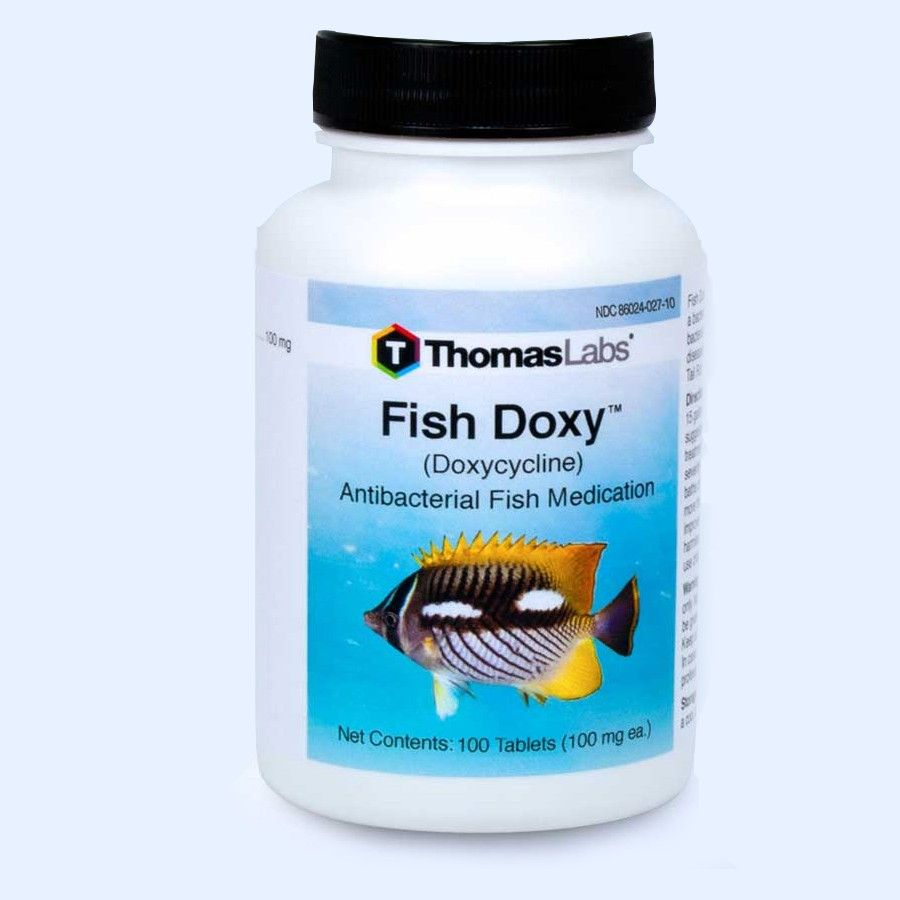Fish Doxy - Doxycycline 100 mg Tablets (100 Count)
