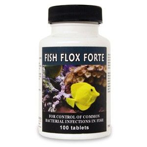 Fish Flox Forte Ciprofloxacin 500 Mg (100 Count)