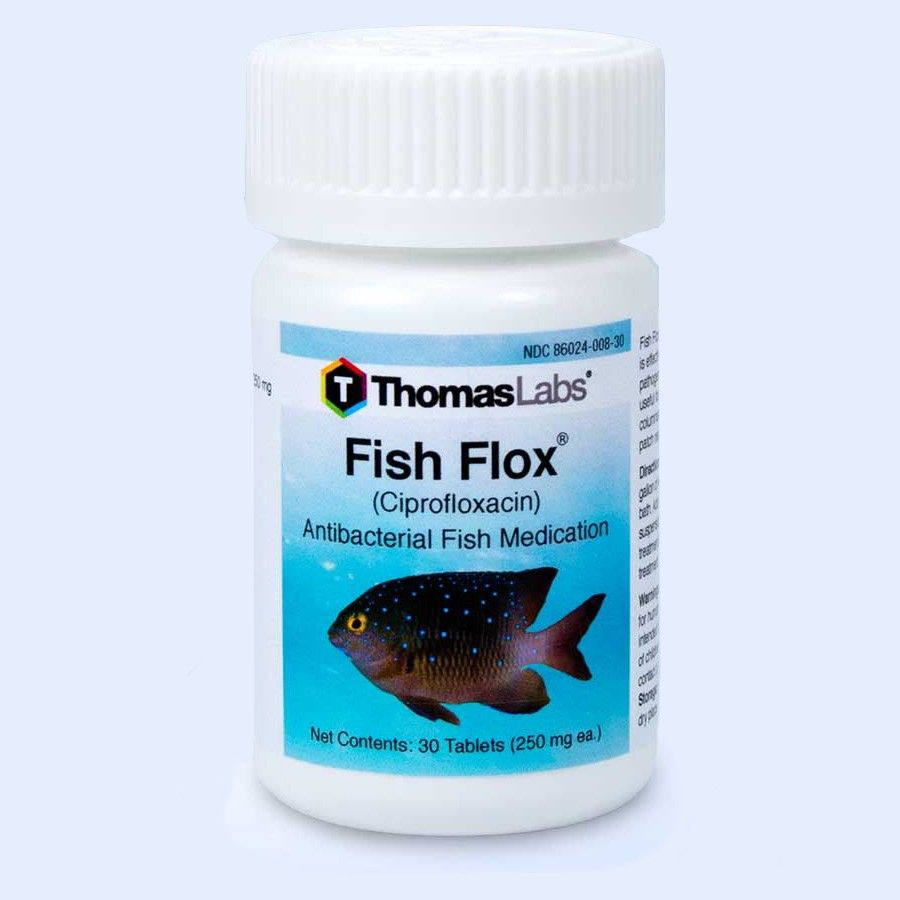 Fish Flox - Ciprofloxacin 250 Mg (30 Count)