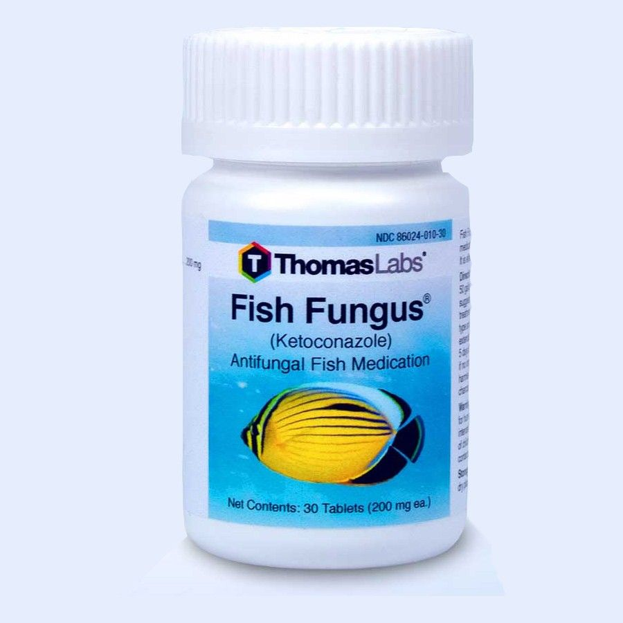 Fish Fungus - Ketoconazole 200 Mg (30 Count)