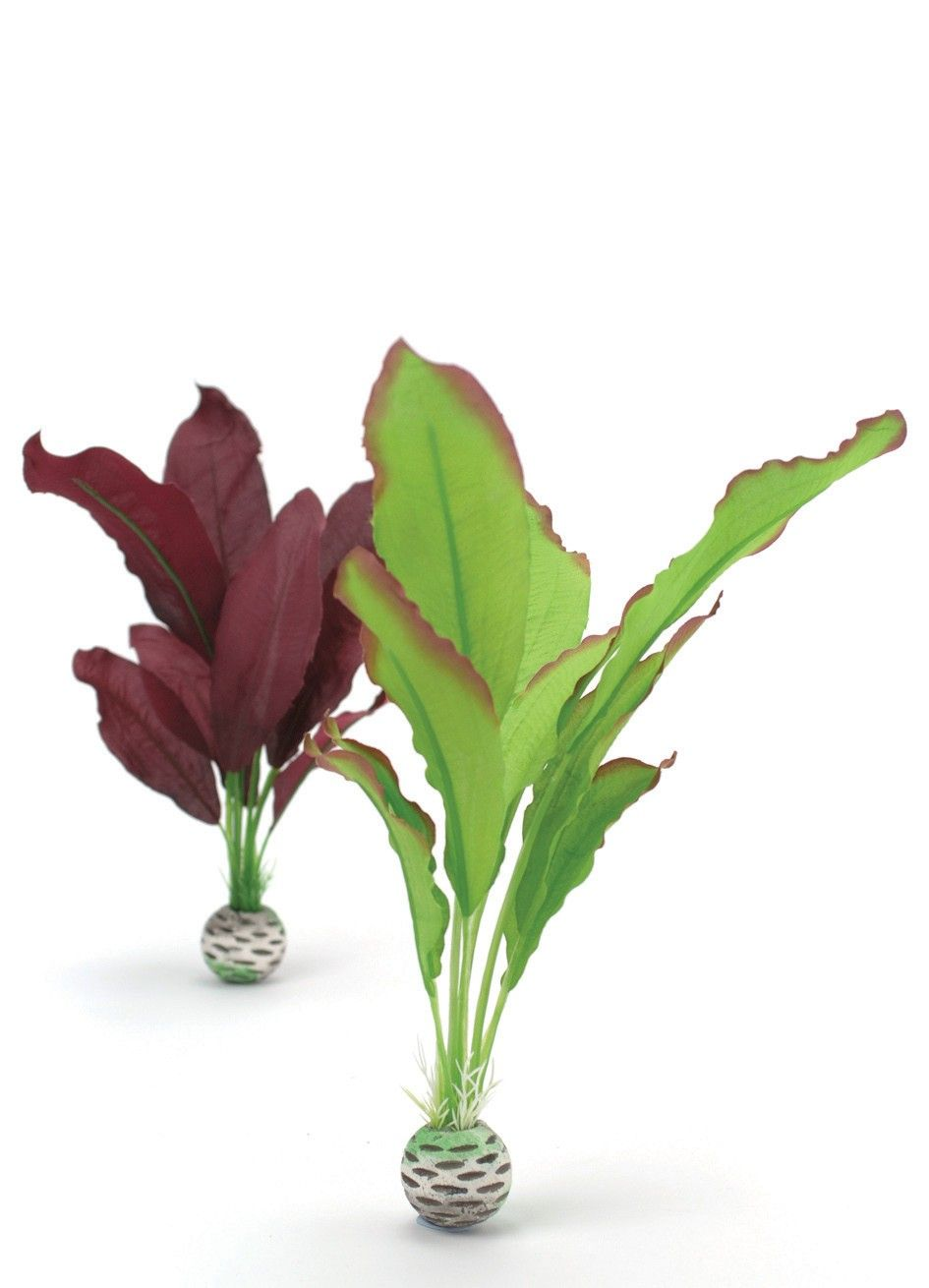 Biorb Silk Plants - Green & Purple