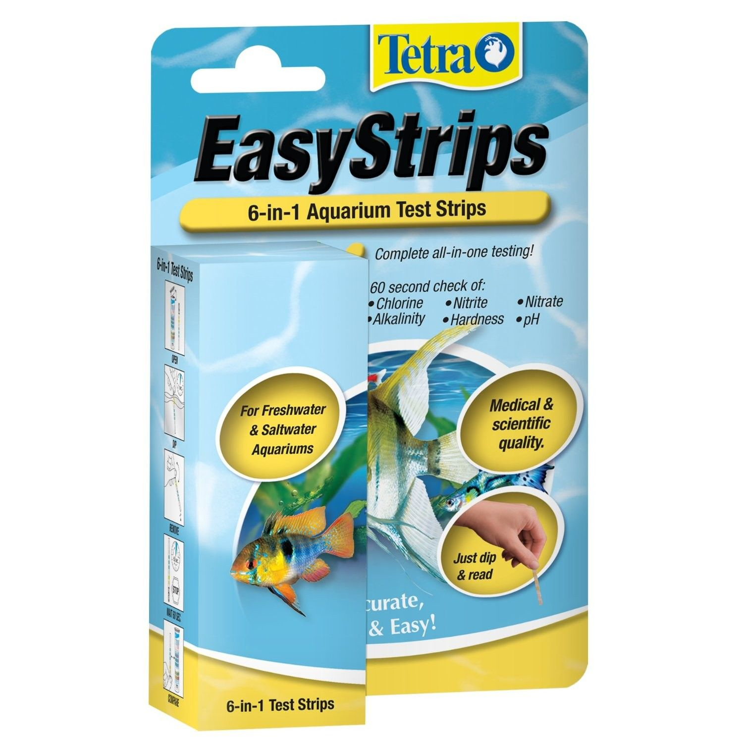 Tetra Easy Strip Test Strips 6 in 1