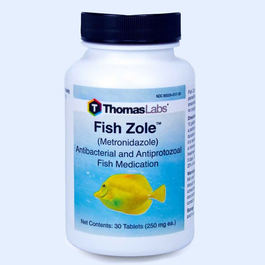 Fish Zole - Metronidazole 250 Mg (30 Count)