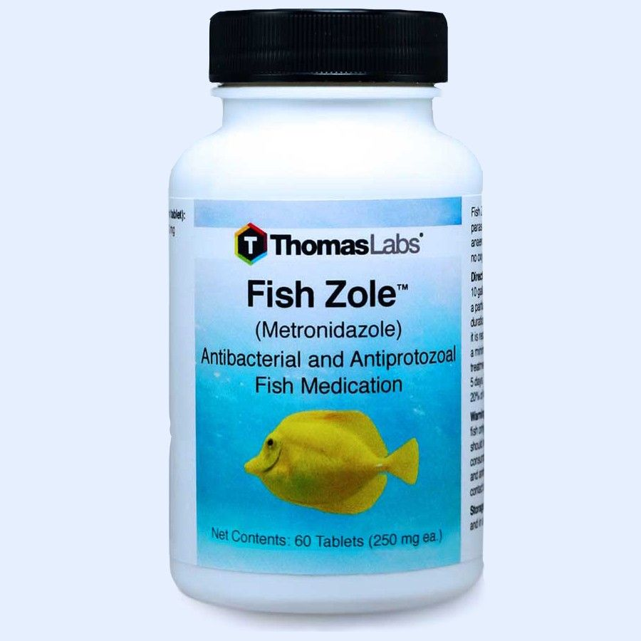 Fish Zole - Metronidazole 250 Mg (60 Count)