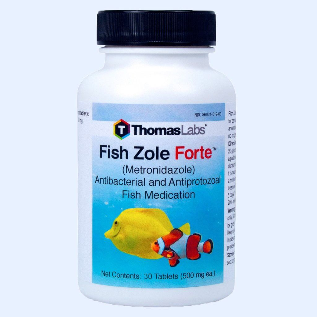 Fish Zole Forte - Metronidazole 500 Mg (30 Count Tablets)
