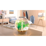 Baby Biorb Aquarium - 4 Gallon - Silver