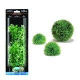 Green Moss Ball Decor Kit