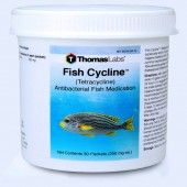 Fish Cycline Powder Packets 30 Count - Tetracycline 250 Mg Powder Packets