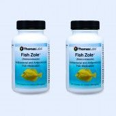 Fish Zole Tablets - 60 Count (Metronidazole 250 Mg) - 2 Pack