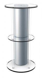 silver biorb acrylic stand