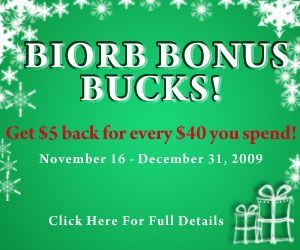 biorb bonus bucks